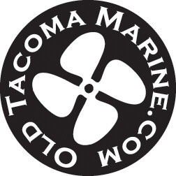 Old Tacoma Marine Inc Sticker Design